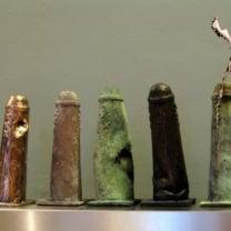 Amsterdammers  bij  mekaar -  miniatuur Brons