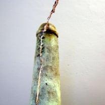Naar  de  Bliksem   -  miniatuur Brons