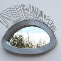 Oog  in  oog  -   Rvs / Spiegel