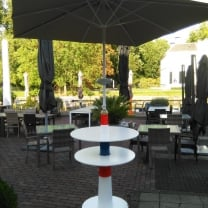 Amsterdamse parasolvoet / sta-tafel